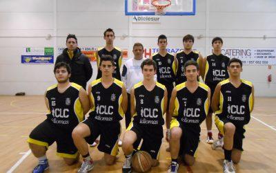 Equipo de baloncesto de 1º de bachillerato