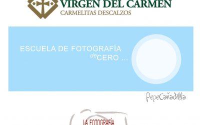 Escuela de fotografía DE CERO