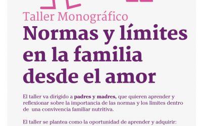 Taller: Normas y límites en la familia desde el amor