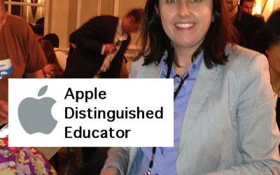 Dª Pilar Pérez Barea, profesora de Inglés en Bachillerato, ha sido seleccionada como Apple Distinguished Educador