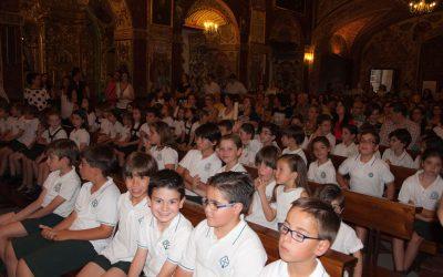 Novena a la Virgen del Carmen en nuestro colegio