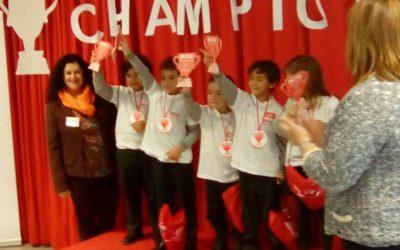 Primer premio para Ed. Infantil en Maths Champions