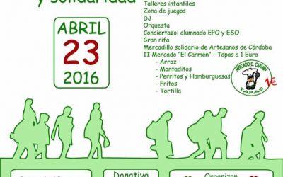 La recaudación de las Jornadas de Solidaridad 2016 ya ha sido enviada
