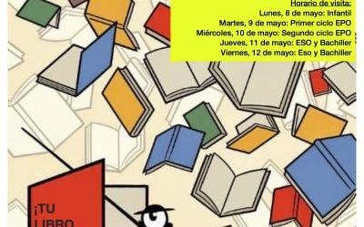 FERIA DEL LIBRO 2017 DE NUESTRO COLEGIO. ¡¡PETICIÓN ESPECIAL!!