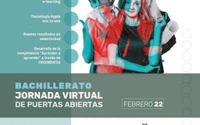 Jornada virtual de puertas abiertas en Bachillerato